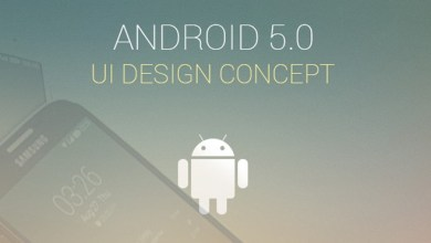 Photo of Android 5.0 UI Design Concept by Codebuild