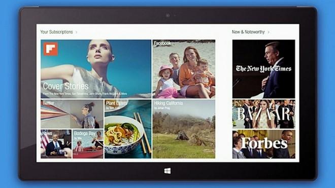 Flipboard Finally launches windows 8.1 app