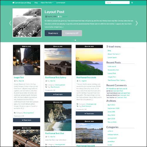 shprinkone-wordpress-theme