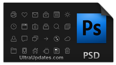 Photo of 10 High Quality Free PSD Icon Sets For Designer & Developers