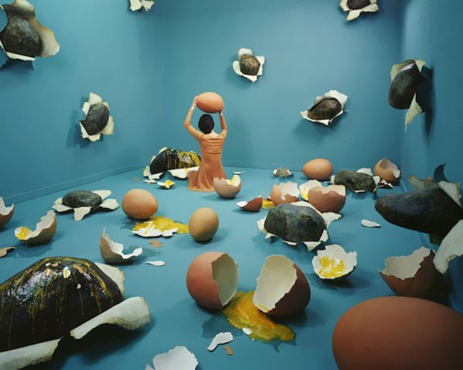 Stage of Mind, Artist Jee Young Lee Transforms Her Small Studio Into Surreal Worlds