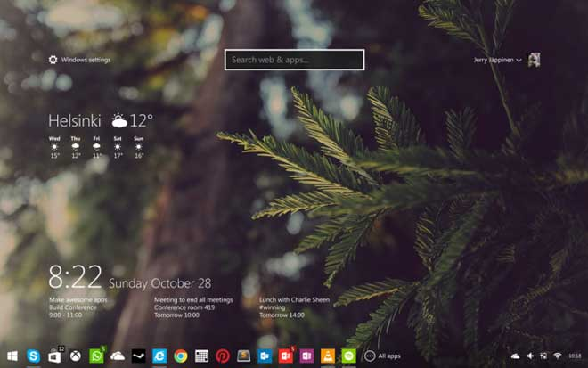 5 Beautiful Windows 9 Concepts Designs