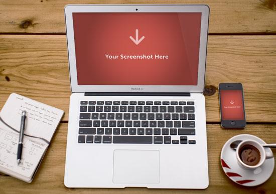 free-psd-tabletop-laptop-display