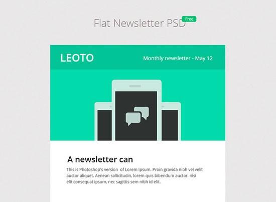3 BEAUTIFUL FREE E-MAIL NEWSLETTER DESIGNS PSD