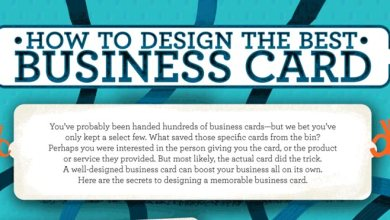 Photo of How To Design Your Own Business Cards – Infographic