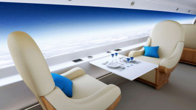 Photo of Supersonic Windowless Business Jet for Panoramic Views