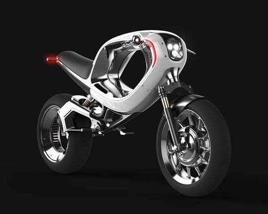 The 'frog eBike 2012' is Straight Out of TRON