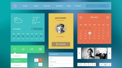 Photo of 8 Awesome Bootstrap HTML & CSS UI KIT