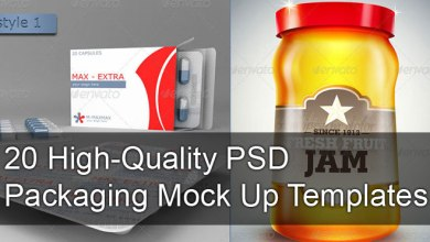 Photo of 23+ High-Quality PSD Packaging Templates & Mock Up
