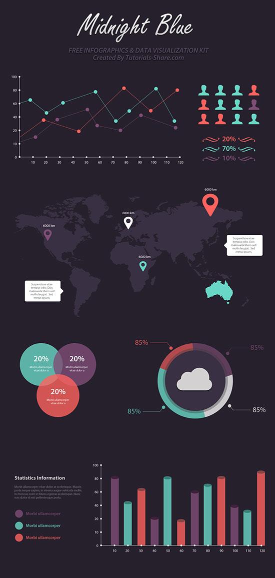 Infographic-Kit-PSD