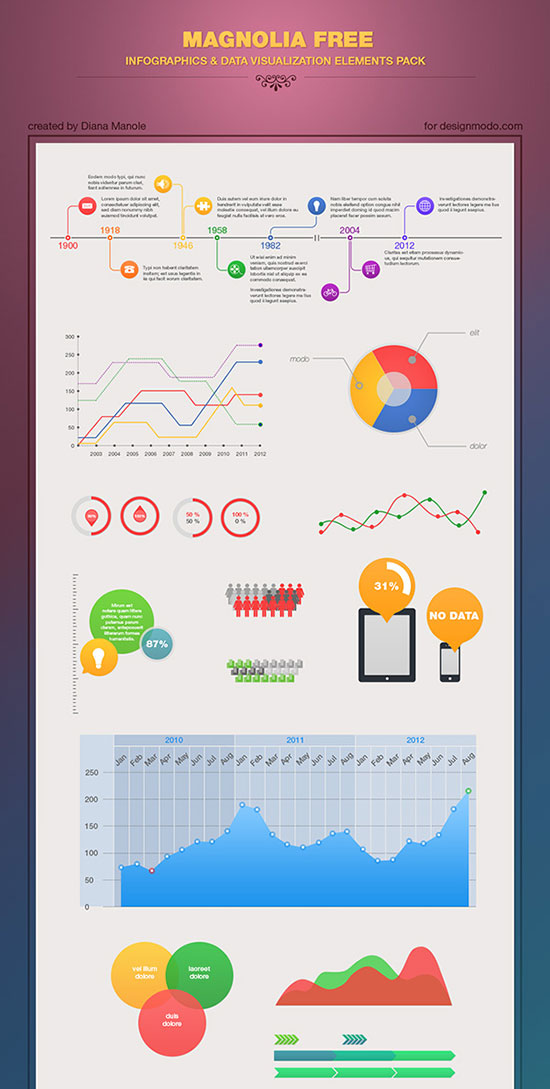 Infographic-PSD-Template