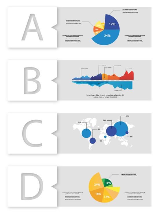 Data Infographic set