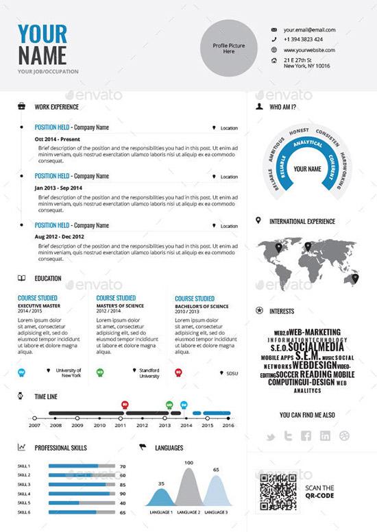 Infographic Resume Vol.1