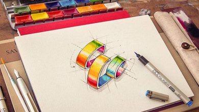 Photo of 15 Logo Sketches Concepts