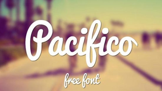 1-Pacifico-free-handwritten-fonts