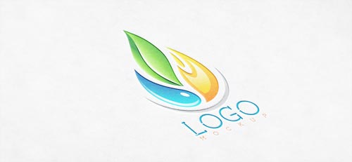 Free Logo Mock Up by R-Graphics