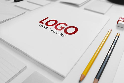 matt LOGO MOCK-UP PSD