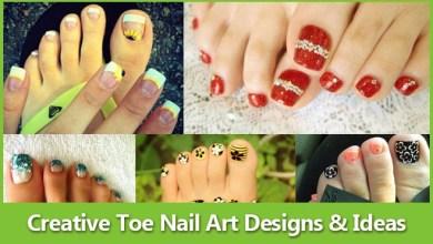 Photo of 40 Creative Toe Nail Art designs and ideas