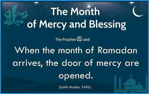 ramadan month of blessing