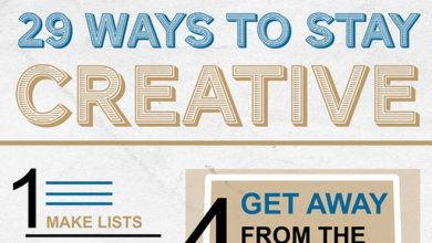 Photo of 29 Ways to Stay Creative Video and Infographic
