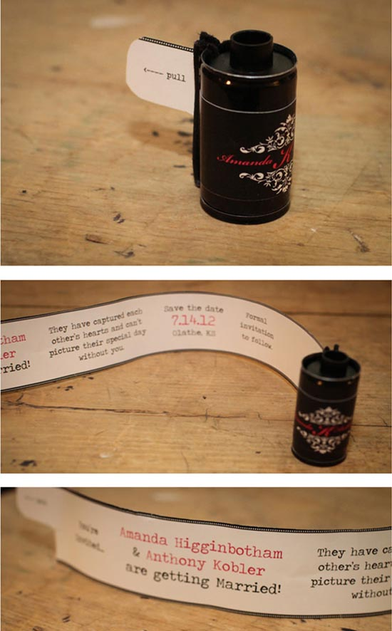 creative wedding invitations 2