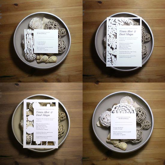 creative wedding invitations 3