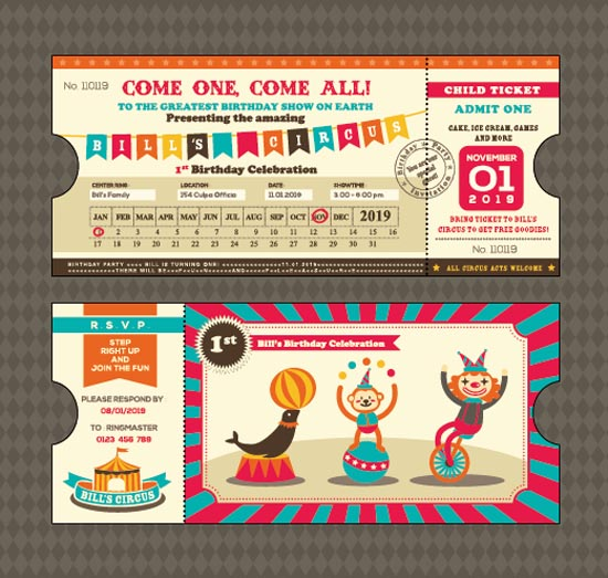 Creative-Happy-Birthday-ticket-design-vector-02