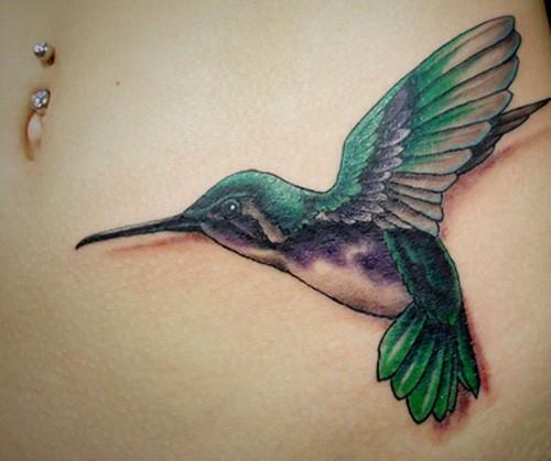 3D-hummingbird-tattoo