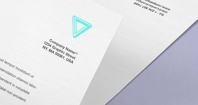 Free Envelope Letter Psd Branding Mockup 3