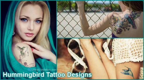 Hummingbird Tattoo Designs & Ideas For Your Inspiration