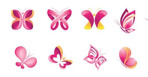 butterfly logos design