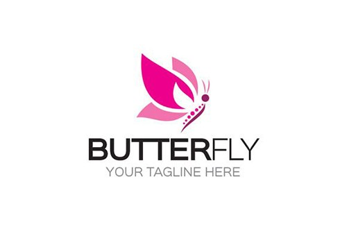 company logos with butterflies 3