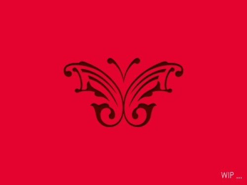 red butterfly logos