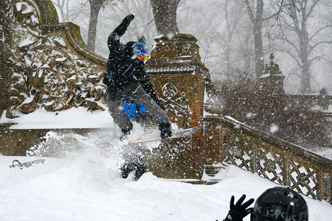 Incredible Photographs of New York City Winter Storm 2016 - c