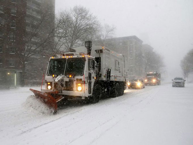 New York City Winter Storm 2016