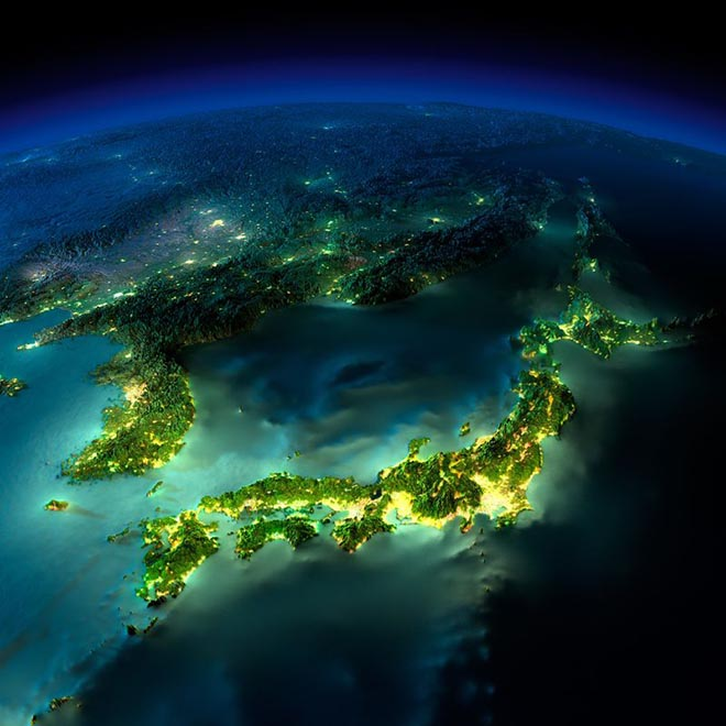 beautiful picture of earth from space