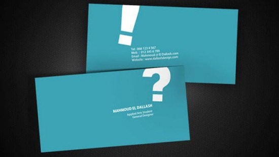 Best Minimalist Business Cards Design Template & Inspiration