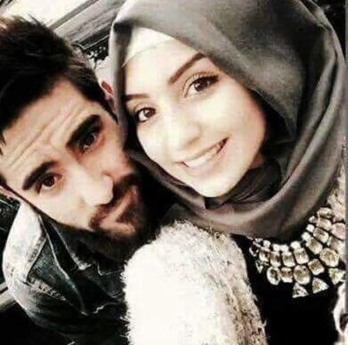 attractive couple selfies