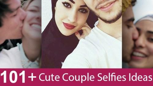 Cute Couple Selfies Photo