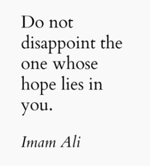 saying of hazrat ali