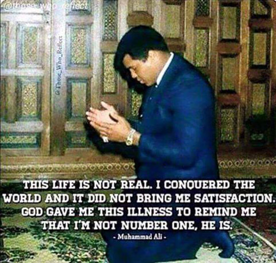 famous muhammad ali sayings