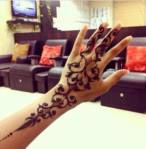 henna simple designs