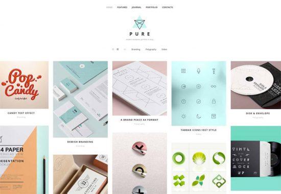 pure-wordpress-minimalistic-themes
