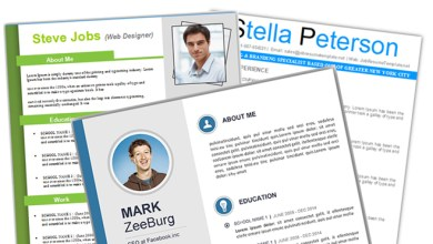 Photo of 4+ Free Resume Templates For Microsoft Word