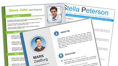 115  best free creative resume templates