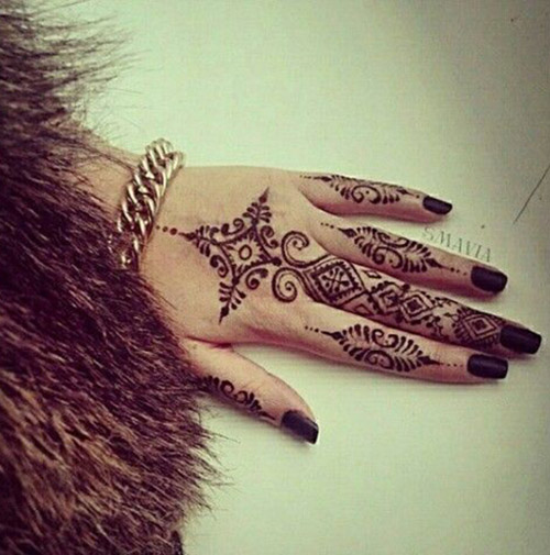 simple henna designs ideas for fingers
