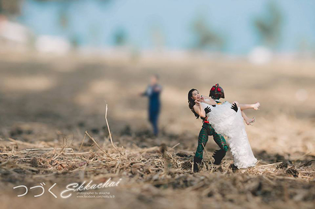 fun unique wedding photography