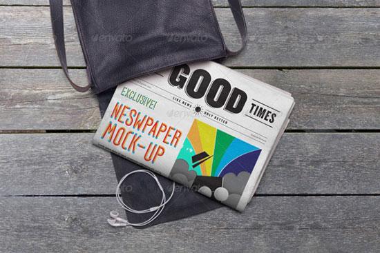 newspaper-Presentation-Mockup