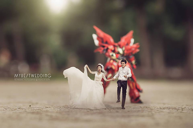 unique wedding photo idea