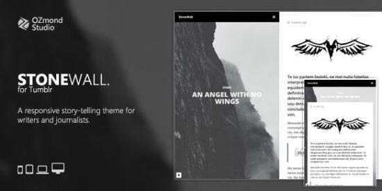 Tumblr Theme for Writers